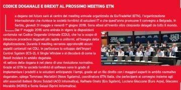 Codice Doganale - Meeting ETN