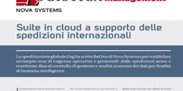 GSG ha scelto Nova Systems per gestire le spedizioni