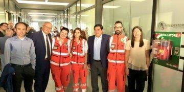 Defibrillatore Inaugurazione Nova Systems