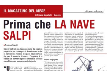 Priano Marchelli Magazzino del Mese Il Giornale della Logistica
