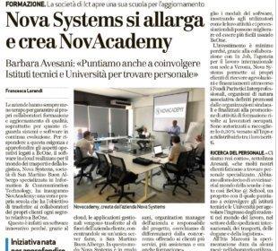 NovAcademy accademia NovaSystems