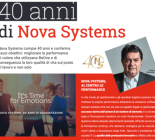Nova Systems 40anni business intelligence