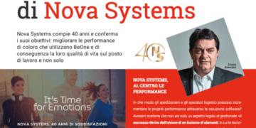 Nova Systems 40anni business intelligence