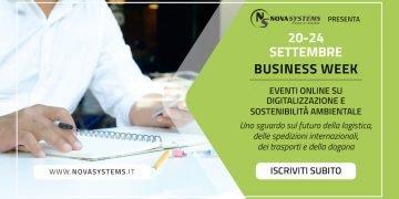eventi online business week logistica spedizioni trasporti